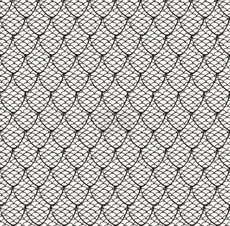 Black and white seamless texture