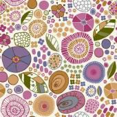 Decorative floral stylized texture