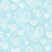 Vzorek s ručně kreslenou srdce