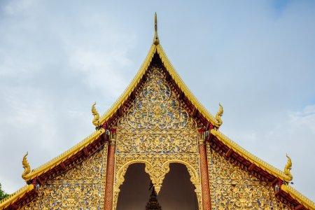 Photo pour Wat Chiang Man, le plus ancien temple de Chiang Mai, Thaïlande - image libre de droit
