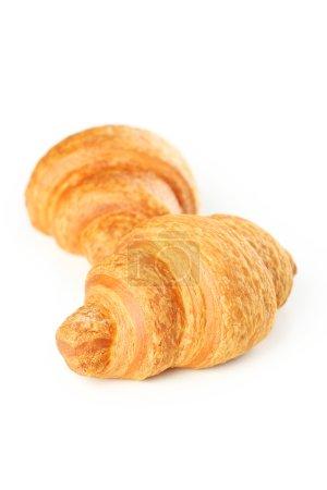Tasty fresh croissants