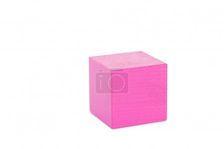 Wooden toy cube