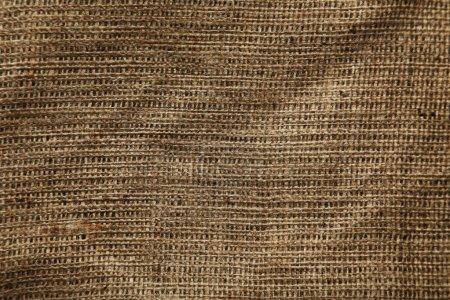 Background of natural burlap
