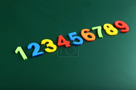 Colorful numbers on board