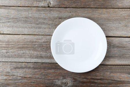 plaque blanche vide