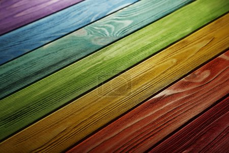 Old colorful wooden texture