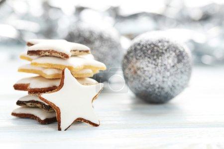 Christmas glazed  cookies