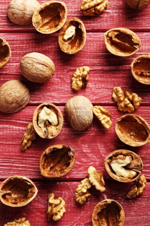 fresh walnuts with skins