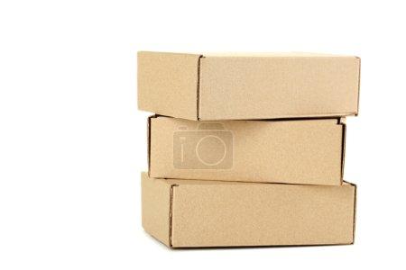 Empty cardboard boxes