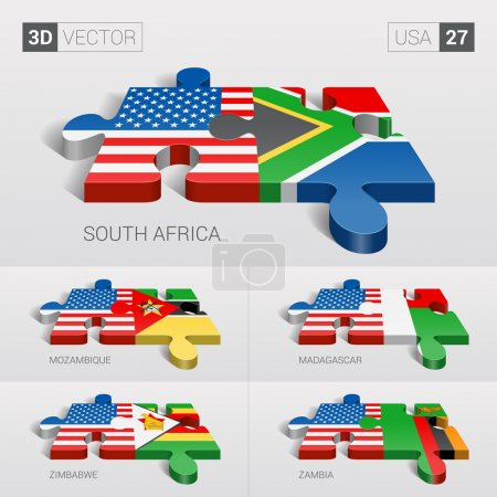 USA and South Africa Mozambique