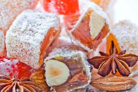 Tasty oriental sweets