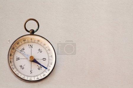 Ancient magnetic exploration compass
