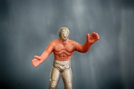 Wrestler Photograph of a toy