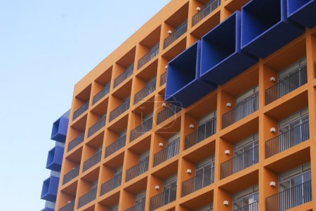 Modern apartments building