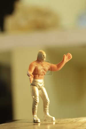 Mexican toy wrestler