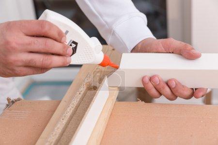 Building a door frame