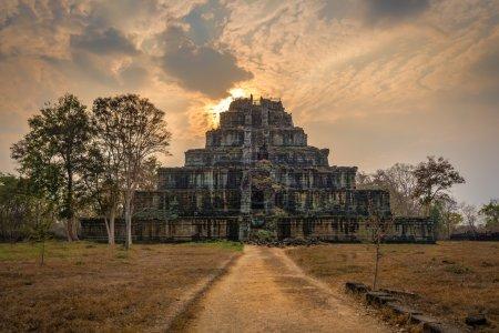 Temple ruins of Koh Ker