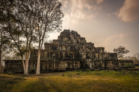 Temple ruins of Koh Ker
