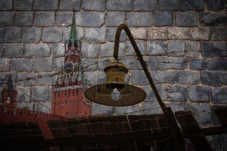 Photo pour Les blocs de pierre à la place rouge à Moscou se souvient de nombreuses souffrances nationales - image libre de droit