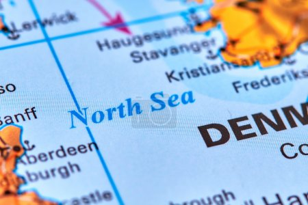 The North Sea on the Map