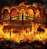 """Постер, картина, фотообои """"Ворота ада"""""""