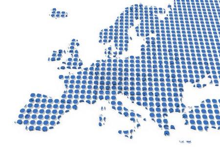 Europe carte de texture 3d