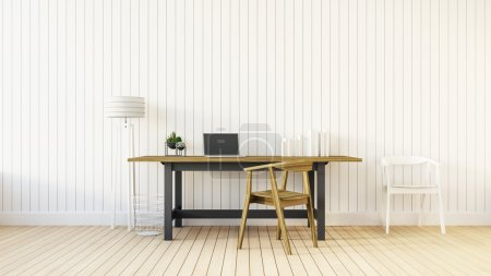 Photo for The modern interior of home office - Royalty Free Image