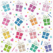 Happy birthday presents pattern
