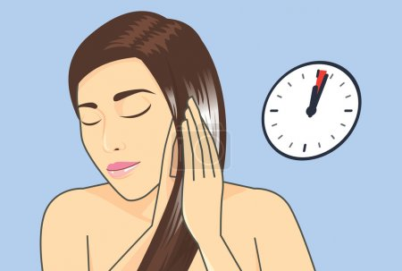 Hair treatment in 1-3 Minute with hair conditioner.