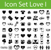 Icon Set Love I