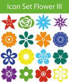 Icon Set Flower III