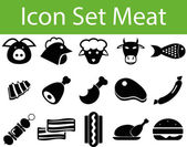 Icon Set Meat