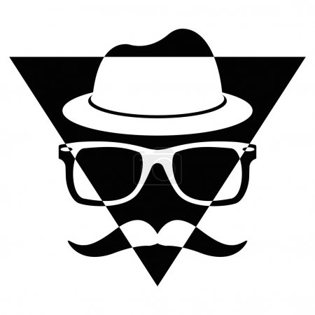 Illustration Vector Graphic Triangle Hipster