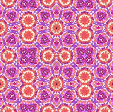 colorful kaleidoscopic tie dye pattern