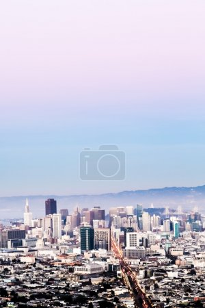 Photo for San Francisco cityscape with skyscrapers and open sky - Royalty Free Image