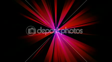 Abstract colorful rays