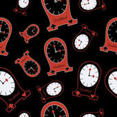 Alice Clocks from Wonderland World Seamless Vector Texture Can Be Used for Wallpapers Pattern Fills Web Page Backgrounds Surface Textures