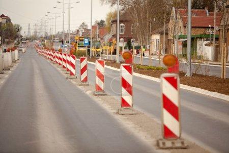 Photo pour Série Construction routière - image libre de droit