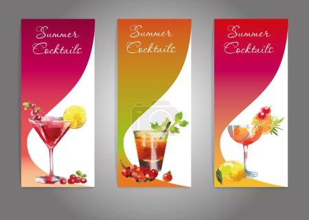 Summer Cocktails set