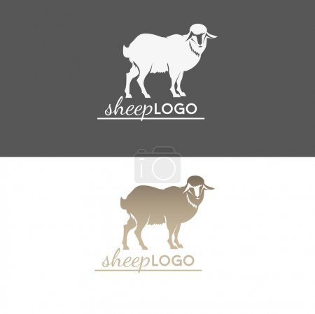 Animal sheep logo