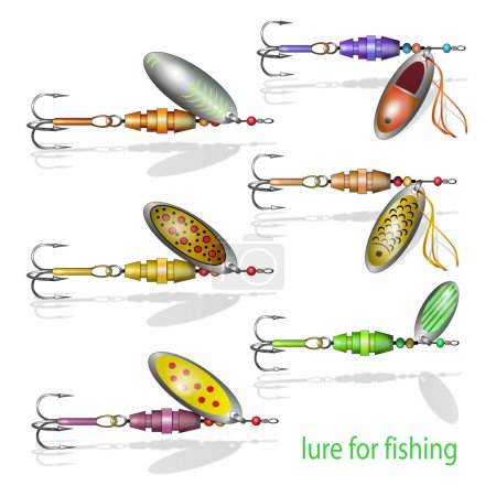 Different fishing baits