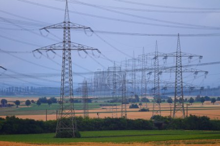 High Power Transmission Line.