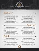 Menus are designed exquisitely beautiful stylish and easy to use