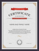 certificate template and element