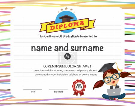 Certificates kindergarten and elementary and secon...