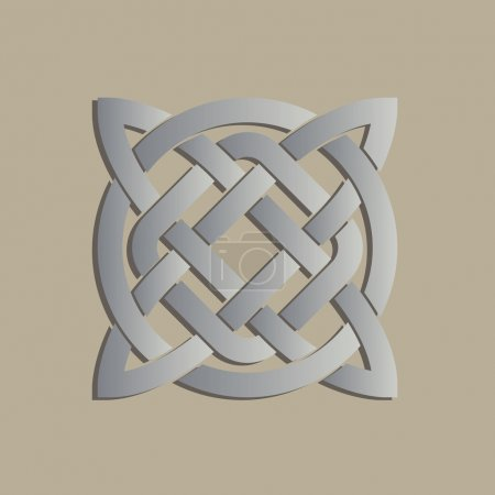 Geometric cross celtic symbol