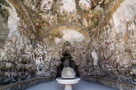Photo for Interior of Buontalenti Grotto on Boboli Gardens. Florence, Tuscany, Italy. - Royalty Free Image