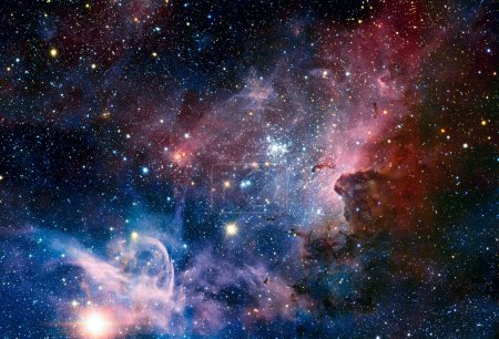 VLT image of the Carina Nebula in infrared light.
