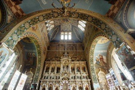 rich interior of a church