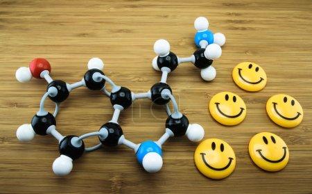 Serotonin molecular structure